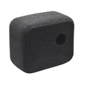 Black Foam Windshield gopros 4 Cover case for GoPros 4/3+/3/XiaoYi Camera body.