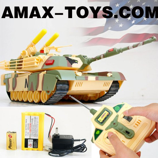 rb-d0349 rc tank Brand New Remote Control 1:16 RC M1A1 Battle Tank with Lifelike sound effect and EVA missiles