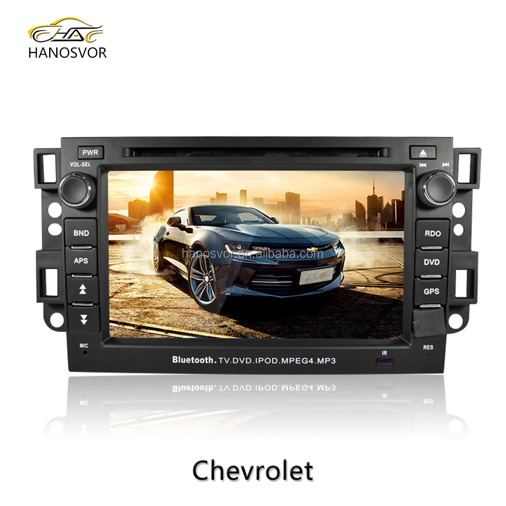 For chevy car DVD GPS navigation built in double din radio