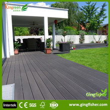 2018 on sale outdoor flooring new building materials wood plastic composite decking