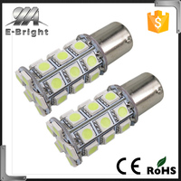 Amber/White Switchback LED Bulbs 27 SMD 5050 6.5W DRL/Turn Signal led Light
