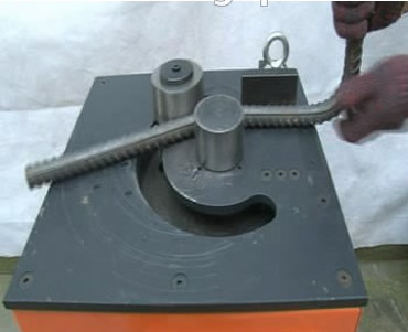 hot sell high quality Steel Bar Bender and Cutting Fuction Rebar Bender
