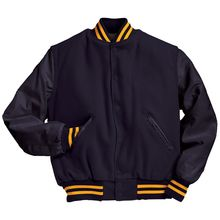Custom made varsity jacket