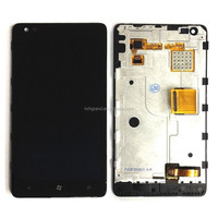 Wholesale Price Original High Quality LCD Display Touch Screen Digitizer with Frame for Nokia Lumia 900