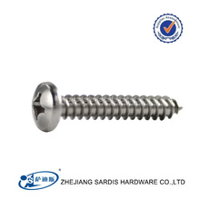 stainless steel ISO14583 trox socket pan head cap screw ball head screw