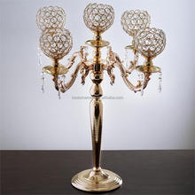 Crystal Votive Candle Holder Wedding Candelabra Chandelier Centerpiece