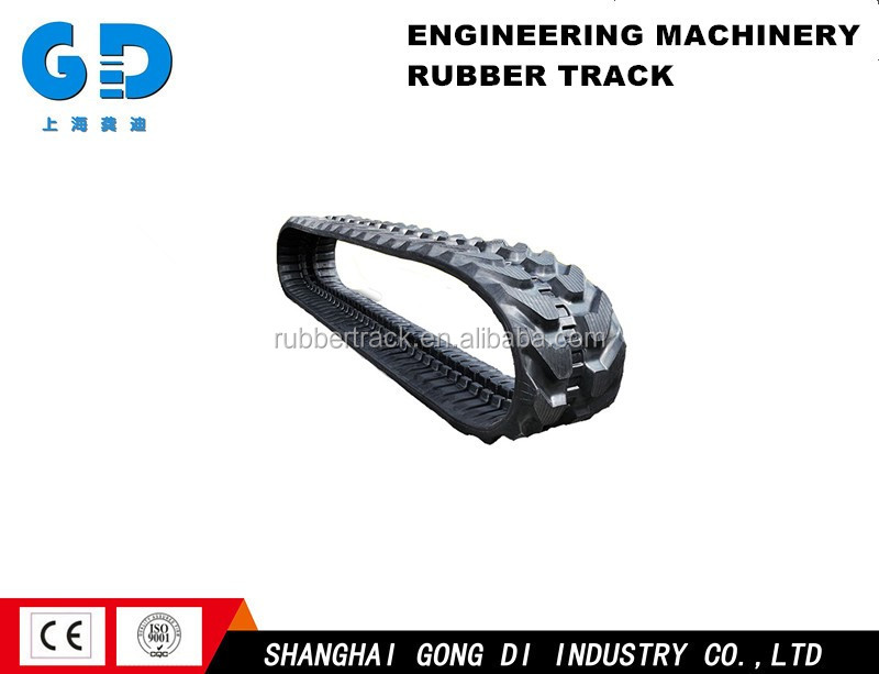 atv rubber track and crawler, anti-slip pad rubber feet, excavator rubber track for sale for malaysia