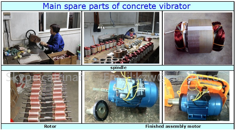 Turkey type 1.0HP Electric compacting concrete vibrator price