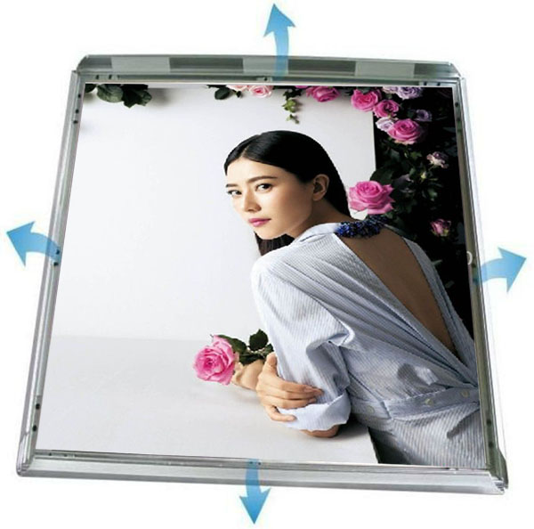 New advertising product , JL-I Aluminum frame led light box ,rectangular shape , Zhongshan Junlong Display