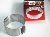 Stainless steel cheese mold mousse ring cake mould