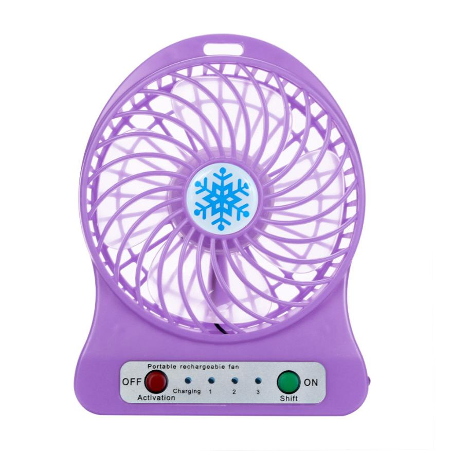 Most Popular Products 2017 Electric Summer Air Cooling Table Fan Rechargeable Noiseless And Gale Fan
