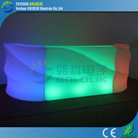LED commercial bar counters design