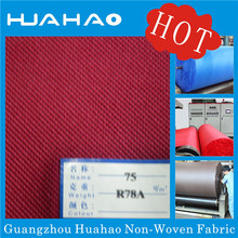 Cross Design Nonwoven Fabric for Shoes Lining