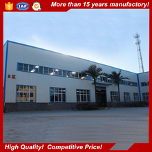 galvanized metal structure for warehouse / light industrial steel buildings