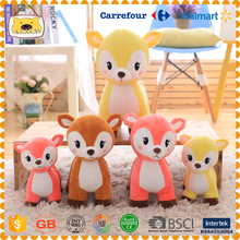 L1 hot sale good quality sika deer baby plush toys for kids and adults ,wedding gifts,Christmas gift