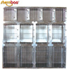 Shernbao KA-509 Customized Professional Stainless Steel Dog Cages Modular Pet Kennels Wholesale