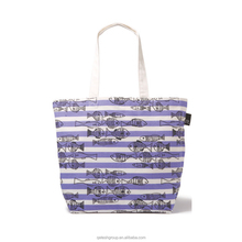 2107 New Fashion Eco-freind Cotton Bag Customize Factory Price Shopping Canvas Tote Bag