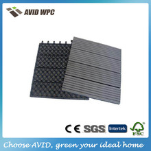 Easy-clean and low price wpc diy flooring/outdoor decking tiles for sale