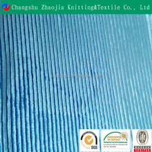 Hot sale new product Popular the knitting blue fashion korea velvet fabric wholesale for a variety of purposes