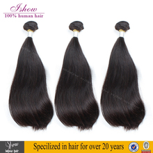 Top 8A Grade Unprocessed Wholesale Brazilian Straight Hair Double Drawn Remy Virgin Human Hair Extension
