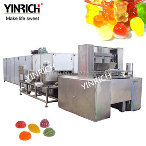 2018 New best quality soft Jelly Candy Depositing Line