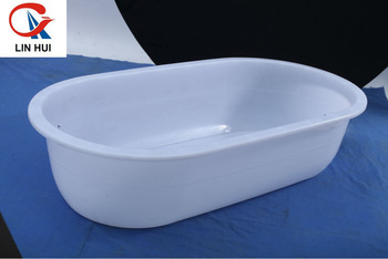 Rotomolded portable plastic bathtub for adult buy large for Bathtub material comparison