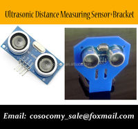 Ultrasonic Module HC-SR04 Distance Measuring Transducer Sensor + Module Bracket for Arduino