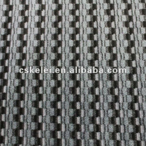 Jacquard Car Seat Upholstery Fabric