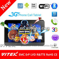 "Best selling 7"" IPS city call phone Tablet pc Android 4 2"
