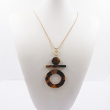 24k jewelry gold snake necklace with resin pendant