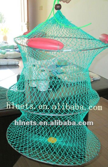 folding fishing trap