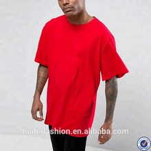 t shirts in bulk dropped shoulders plain red oversized t shirt <strong>men</strong>