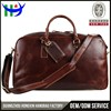 Fashionable China alibaba supplier luggage bag popular good quality cheap travel bag Italy genuine leather duffle bag