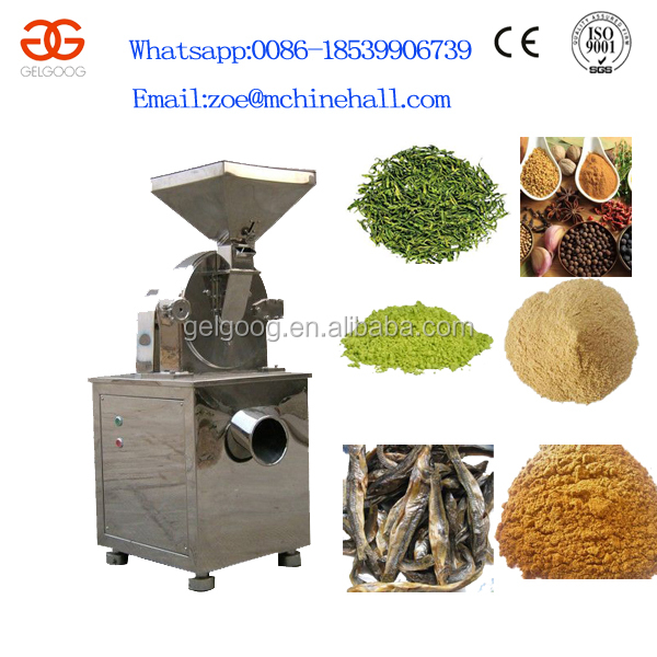 Fish Powder Milling Machine Dry Anchovy Crushing Machine Anchovy Powder Mill