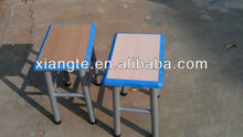 New design metal and wooden school stools with ABS edge , students stools / school furniture