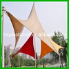Heavy duty sun shade/shadow sail with UV protection