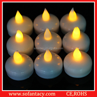 colour changing led floating tealight,led floating candles