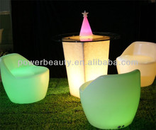 Cool bar/club/wedding/party/KTV/hotel illuminated LED chair