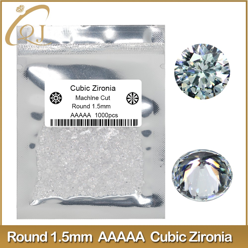 High quality AAAAA cubic zirconia beads for making jewelry