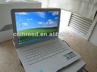 oem brand name pc 13.3 inch laptop RAM 1G/2G/4G DDR3160G/250G/320G/ 500G notebook computer WinXP/7 Intel D425 or D2500 netbook