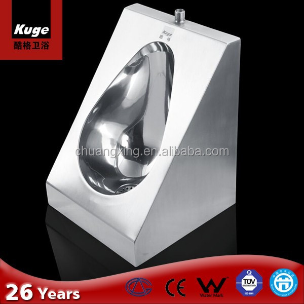 Fashion wall hung stainless steel Australia urinal man