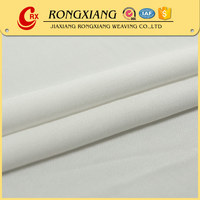 High quality Custom high density satin plain white fabric