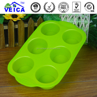 6-hole insect shaped chocolate silicone Moulds bakeware tools DIY cake mould ice-tray mold