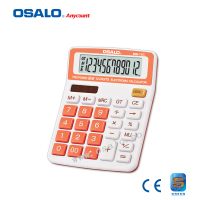 New and Hot 12 digits desktop Battery Calculator OS-15C