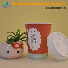 Shiny colorful takeaway mini disposable paper cups