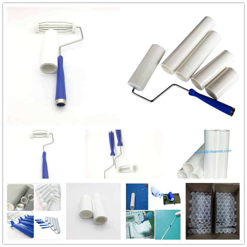 Adhesive cleaning Tacky Roller