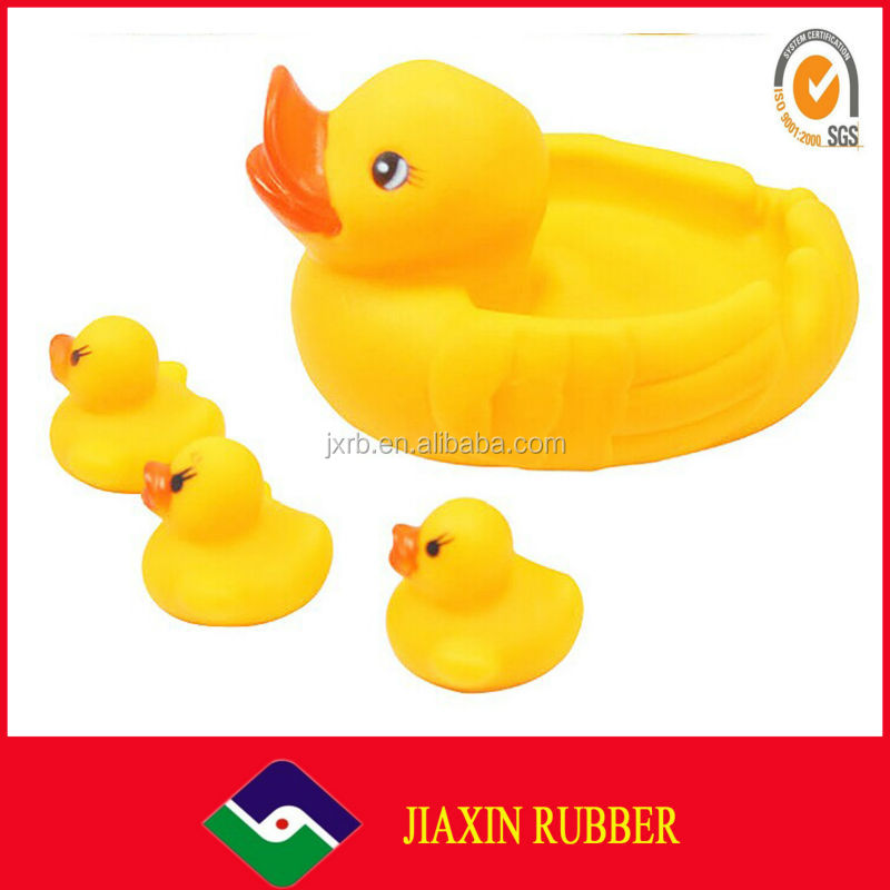 Small yellow duck, newborn baby toys, swiming duck toys
