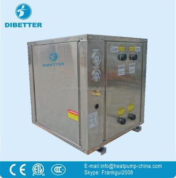 Geothermal Ground Source Heat Pump for Heating, Cooling and Hot Water air source heatpump