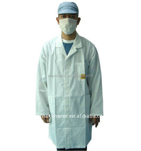 Working Aprons C0102 ESD Twis-quart Jacket Coat Free Snaps ESD Smock Gown C0102 Standard 3/4 ESD Antistatic Smock