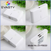 Dual usb portable power bank battery charger laptop / mobile phone powerbank